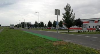 Új megállóhely: Mechatronikai Park központ